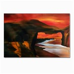 River Styx Gothic Fantasy Painting Postcards 5  x 7  (Pkg of 10)
