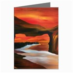 River Styx Gothic Fantasy Painting Greeting Card