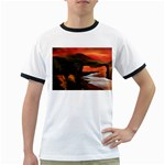 River Styx Gothic Fantasy Painting Ringer T