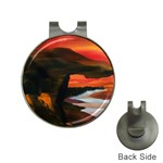 River Styx Gothic Fantasy Painting Golf Ball Marker Hat Clip