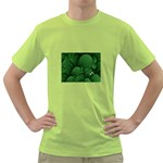 Green Fantasy Fish World Fractal Green T-Shirt