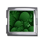 Green Fantasy Fish World Fractal Mega Link Italian Charm (18mm)
