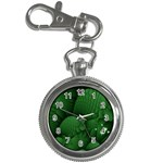 Green Fantasy Fish World Fractal Key Chain Watch