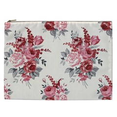 Rose Beauty Flora Cosmetic Bag (xxl)  by AnjaniArt