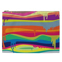 Colorfull Rainbow Cosmetic Bag (xxl)  by AnjaniArt