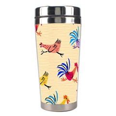 Chicken Stainless Steel Travel Tumblers by AnjaniArt