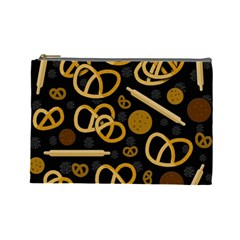 Bakery 2 Cosmetic Bag (large)  by Valentinaart