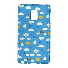 White Clouds Galaxy Note Edge by AnjaniArt