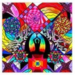 Meditation - Large Satin Scarf (Square)