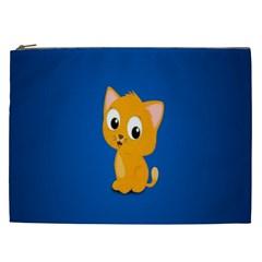 Cute Cat Cosmetic Bag (xxl)