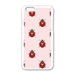 Insect Animals Cute Apple Iphone 6/6s White Enamel Case by AnjaniArt