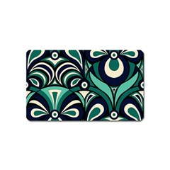 Missoni Spring Summer Magnet (name Card) by AnjaniArt