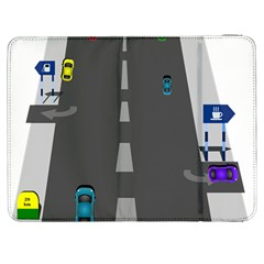 Highway Samsung Galaxy Tab 7  P1000 Flip Case by AnjaniArt