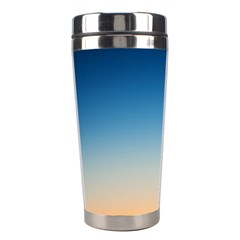 Rainbow Blue Orange Purple Stainless Steel Travel Tumblers by AnjaniArt