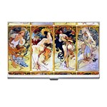 Alfons Mucha 1895 The Four Seasons Business Card Holder