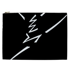 Great Gig Dance Cosmetic Bag (xxl)  by AnjaniArt