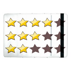 Star Rating Copy Samsung Galaxy Tab Pro 10 1  Flip Case by AnjaniArt