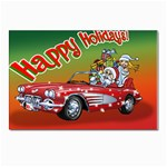 Corvette Santa Christmas Card Postcards 5  x 7  (Pkg of 10)