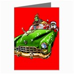 Corvette Santa Christmas Card Greeting Cards (Pkg of 8)