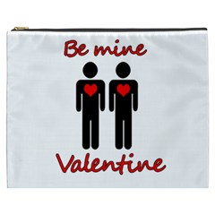 Be Mine Valentine Cosmetic Bag (xxxl)  by Valentinaart