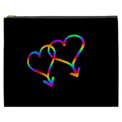 Love Is Love Cosmetic Bag (xxxl)  by Valentinaart