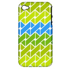 Link Pattern Apple Iphone 4/4s Hardshell Case (pc+silicone)