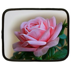 Rose Pink Flowers Pink Saturday Netbook Case (xl)