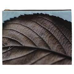 Leaf Veins Nerves Macro Closeup Cosmetic Bag (xxxl)  by Amaryn4rt