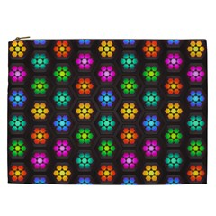 Pattern Background Colorful Design Cosmetic Bag (xxl)  by Amaryn4rt