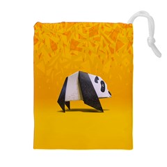 Cute Panda Drawstring Pouches (extra Large)