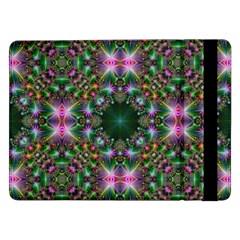 Digital Kaleidoscope Samsung Galaxy Tab Pro 12 2  Flip Case by Amaryn4rt
