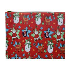 Xmas Santa Clause Cosmetic Bag (xl) by Jojostore
