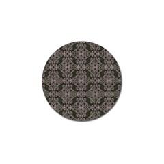 Line Geometry Pattern Geometric Golf Ball Marker (4 Pack) by Amaryn4rt