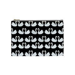 Swan Animals Cosmetic Bag (medium)  by Jojostore