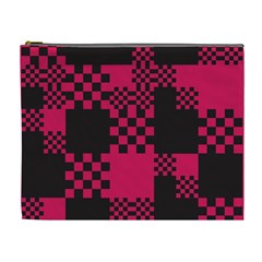 Cube Square Block Shape Creative Cosmetic Bag (xl) by Amaryn4rt