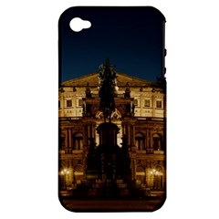Dresden Semper Opera House Apple Iphone 4/4s Hardshell Case (pc+silicone)
