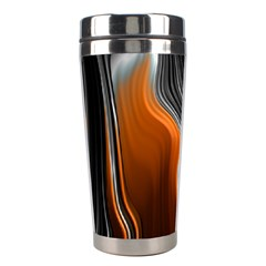 Fractal Structure Mathematics Stainless Steel Travel Tumblers by Amaryn4rt