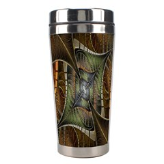 Mosaics Stained Glass Stainless Steel Travel Tumblers by AnjaniArt
