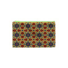 Arabesque Flower Cosmetic Bag (xs) by Jojostore
