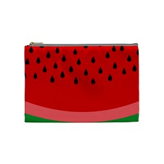 Watermelon  Cosmetic Bag (medium)  by Valentinaart
