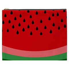 Watermelon  Cosmetic Bag (xxxl)  by Valentinaart