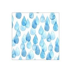 Rain Drops Satin Bandana Scarf by Brittlevirginclothing