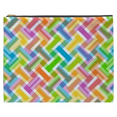 Abstract Pattern Colorful Wallpaper Cosmetic Bag (xxxl)