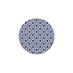 Background Pattern Geometric Golf Ball Marker (10 Pack) by Amaryn4rt
