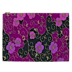 Floral Pattern Background Cosmetic Bag (xxl)  by Amaryn4rt