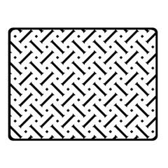 Geometric Pattern Fleece Blanket (small) by Amaryn4rt