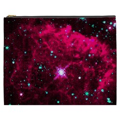 Pistol Star And Nebula Cosmetic Bag (xxxl)