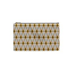 Seamless Wallpaper Background Cosmetic Bag (small)  by Amaryn4rt