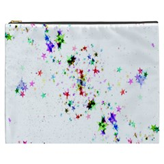 Star Structure Many Repetition Cosmetic Bag (xxxl)  by Amaryn4rt