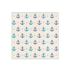 Sailor Anchor Satin Bandana Scarf by Brittlevirginclothing
